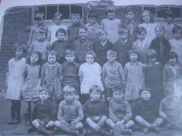 School Photograph taken at Hitchin in mid-1920s