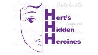 Image Of The Hertfordshire Hidden Heroines Project Flyer | Copyright Joanna Scott, Illustrator.
