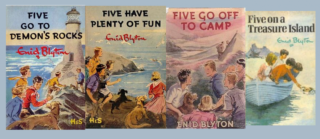 Image of The Famous Five Books By Enid Blyton Art Work By Eileen Soper