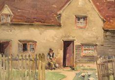Watercolour Images of Hertfordshire