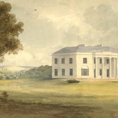 'Digswell House' by J. Trower (ref. CV/DIG/3) | Hertfordshire Archives & Local Studies