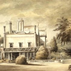 'Bedwell Park, Essendon' by Selwin (ref. CV/ESS/6) | Hertfordshire Archives & Local Studies