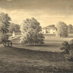 'Hitchin Priory, c.1780–1800' (ref. CV/HIT/17) | Hertfordshire Archives & Local Studies