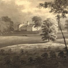'Knebworth Place', late  C18th (ref. CV/KNEB/1) | Hertfordshire Archives & Local Studies