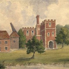 'Rye House' by E. Cobbett (ref. CV/STANS.A/28)  | Hertfordshire Archives & Local Studies