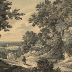 'Watford from Merry Hill, Bushey' (ref. CV/WATF/56) | Hertfordshire Archives & Local Studies