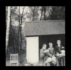 cuffely camp brackendene tea break 1966