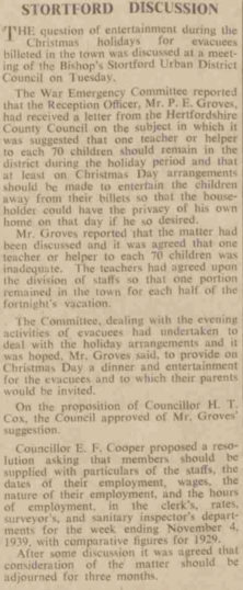 Cutting from the Herts Mercury