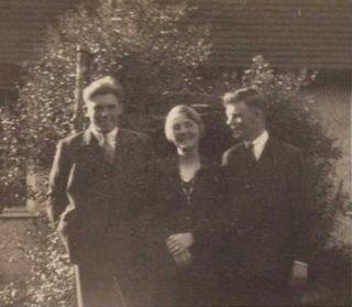 Teresa Agnes Walker nee Alsop with her boys- Angus (L) & Todd (R)