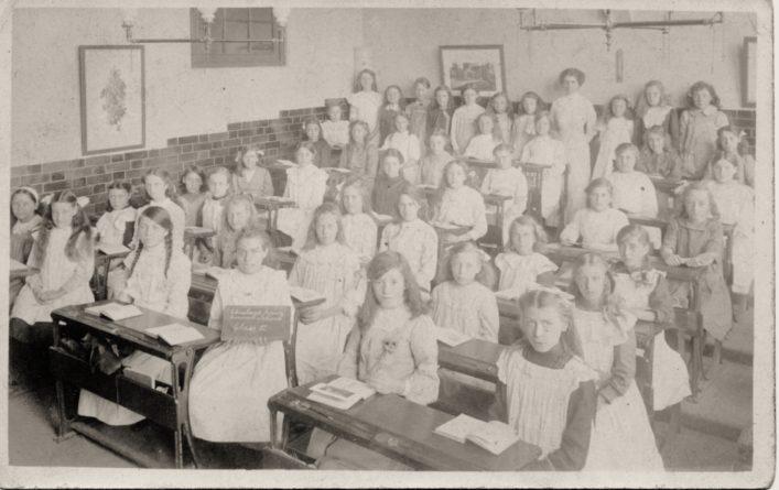 Cheshunt Junior Council School c1912 Showing Hilda Florence Hart