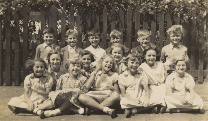 Miss Day's class at the British School, Cheshunt, 1938