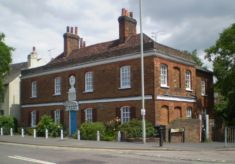 Broxbourne. Laetitia Monson's almshouse