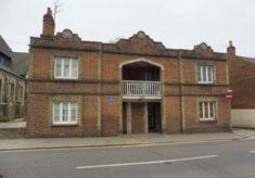 Hertford. Prince Albert Cottages