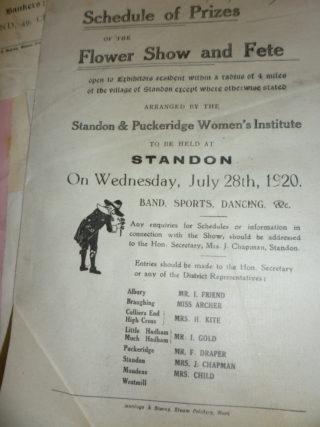 Standon W I