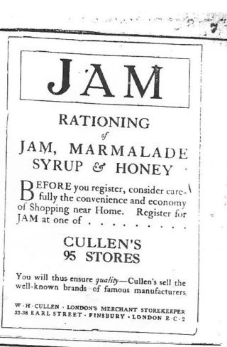 Advertisement - Hertfordshire Mercury 12 October 1918
