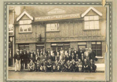 Spread Eagle Pub, Amwell End, Ware, Memories of Tom Miles""