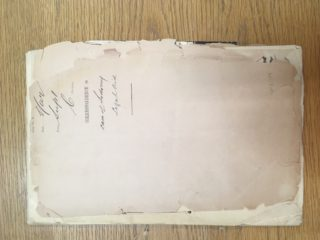 Correspondence File: Sodomy  Trail, Watford, 1907. Hertfordshire Archives and Local Studies, HPF/R/389