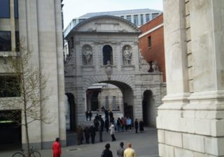 Temple Bar, as seen from St Paul's Cathedral. Aug 2010 | Colin Wilson