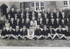 Late fifties. Mrs Ramage's class, Abel Smith, Hertford