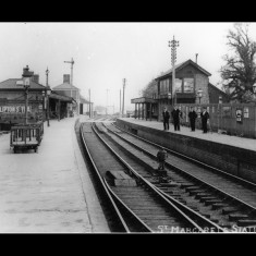 The southern terminus of the Buntingford Line, connecting with through trains to Liverpool Street Station; 1900s. | © The Lens of Sutton Association