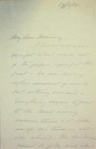 The Letters of Arthur Martin-Leake June 1916   Hertfordshire Archives & Local Studies