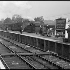 St Margarets Station around 1960. | © Michael Covey-Crump