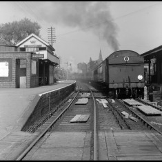 St Margarets with passenger train September 1958. | © Michael Covey-Crump