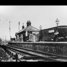 Standon Station in the 1900s or 1910s | © The Lens of Sutton Association