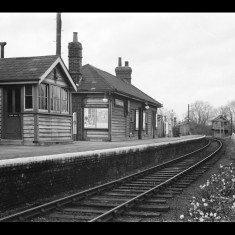 Standon Station, looking north, November 1964. | © Michael Covey-Crump