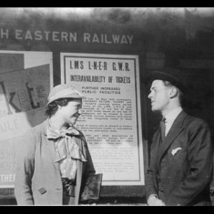 Passengers in the 1930s. | Lent by Stephen Ruff