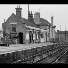 Braughing Station before the First World War. | © The Lens of Sutton Association