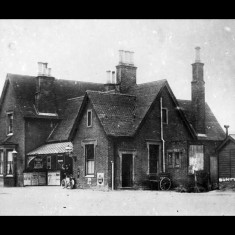 Buntingford Station before 1900. | © The Lens of Sutton Association