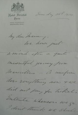 Letter 86937 | Hertfordshire Archives & Local Studies