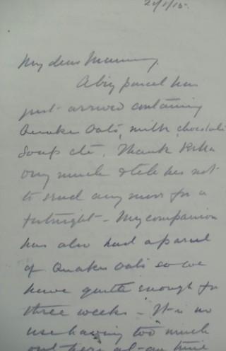 Letter 86960 | Hertfordshire Archives & Local Studies