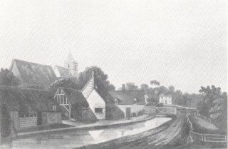 Amwell Church in the late 18th Century | Hertfordshire Record Office