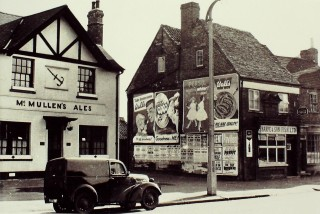 The Anchor, with Sharpe's Fish Shop, 1955 | Hertfordshire Archives & Local Studies