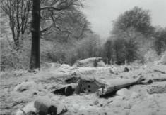 1954 Aldbury Valetta accident