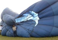 Hot Air Balloon Launch From Baldock