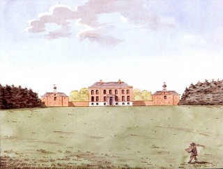 Bayfordbury as built in the 18th century | Hertfordshire Archives and Local Studies