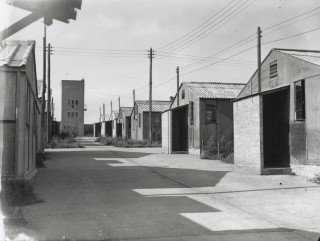 The vacated camp, September 1948