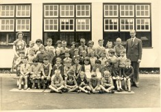 Christ Church Infants School, 1963