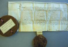 Permission to bury the Harpenden dead, 1537