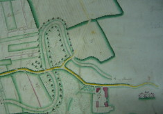 Map of the Manor of St Margarets