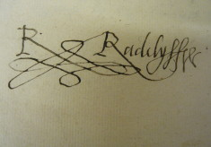 Documents from the Delme Radcliffe collection