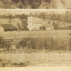 St Nicholas Church and Forster Country in newspaper