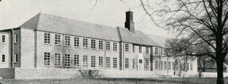 The original East Barnet School, which opened in 1937, was demolished in 2010 | East Barnet Old Grammarians