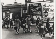 Evacuees in Bushey