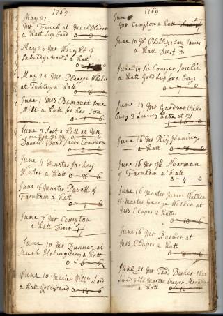 John Phillip's Order Book | Hertfordshire Archives & Local Studies [71246]