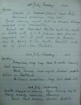 First page - Schoolmaster's journal | Hertfordshire Archives and Local Studies