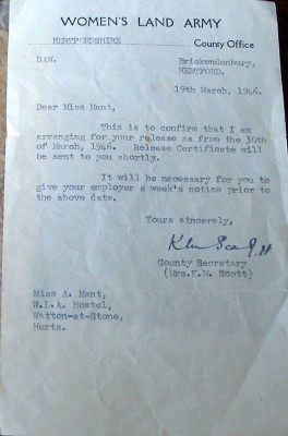 The discharge letter